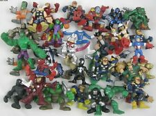 20pcs SUPER HERO SQUAD SPIDER-MAN HULK BEAST Colossus CYCLOPS LOOSE  Figure V81