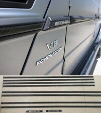 AMG CARBON side molding for Mercedes Benz G class W463 G500 G63