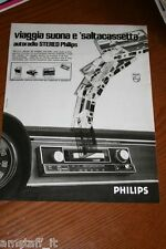 BI17=1972=PHILIPS AUTORADIO STEREO=PUBBLICITA'=ADVERTISING=WERBUNG=