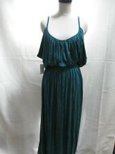 NWT RACHEL PALLY ODESSA GRECIAN GODDESS DRAPED MAXI DRESS IN EVERGLADE GREEN L
