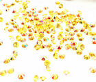 2000 amber Wedding Decoration Scatter Crystals Table Diamonds Confetti 3mmAB