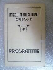1937 New Theatre Programme PLEASE TEACHER a musical comedy-K R G Browne,L Moore