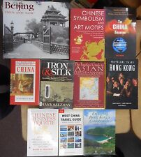 China & Hong Kong Travel 10 Book Lot Customs Manners Business Culture Chinese