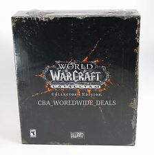 NEW World of warcraft cataclysm collector's edition SEALED