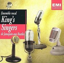 King's Singers - De Janequin aux Beatles (2 CD) 2003 EMI Music rare NEW sealed
