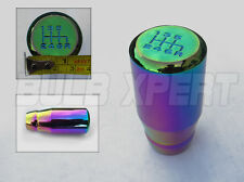 FOR NISSAN 300ZX 350Z 370Z 6 SPEED NEO CHROME FULL GRIP LONG DRIFT SHIFT KNOB