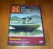 ROSWELL FINAL DECLASSIFICATION Military Space Aliens UFO History Channel DVD NEW
