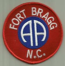 FORT BRAGG N.C.U.S.ARMY PATCH 82ND AIRBORNE SOLDIER USA PARAMILITARY RIFLEMAN