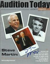 Steve Martin signed Audition Today Magazine - The Pink Panther
