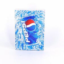 Pepsi Sealed Deck Playing Cards Advertising Collectible Plastic Coated Tuck Box