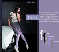 Fiore Raula Elite 40 Denier Satin-Gloss Effect Tights Pantyhose