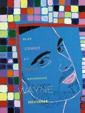 Blue Stranger With Mosaic Background-ExLibrary