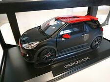Citroën DS3 RACING LOEB noir mat - 1:18 Norev pack Citroën VOITURE AMC019122