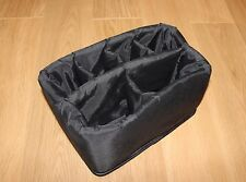 USEFUL PADDED INSERT with DIVIDERS for CAMERA BAGS or USE IN OTHER CONTAINERS !!