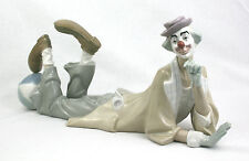 Lladro Clown Ornament Lying Down Ball 4618 Boxed First