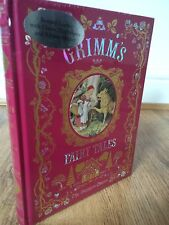 Grimms Fairy Tales by The Brothers Grimm Leather bound Hardback Book