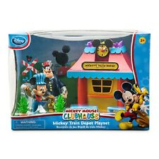 WDW DISNEY MICKEY MOUSE CLUBHOUSE TRAIN DEPOT PLAY SET BRAND NEW IN BOX