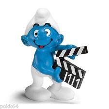 Les Schtroumpfs figurine Schtroumpf avec Clap de Cinéma 5,5 cm Smurfs 207103