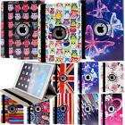 360° Rotating Leather Stand Case Cover for Apple iPad 2 3 4/ Mini 1 2 3/Air 1 2