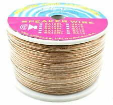 DNF 12 GAUGE 250 FEET SPEAKER WIRE FOR HOME+CAR+AUDIO CLEAR - SHIPS FREE TODAY!