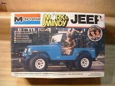 MORK & MINDY JEEP ~ 1979 MONOGRAM MODEL KIT #2261 ~1/24~ FACTORY SEALED