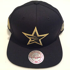 NBA All Star Black Gold Toronto Raptors Basketball Mitchell Ness 2016 Hat Cap