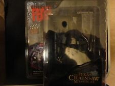 Mezco Cinema Of Fear Screen Grabs Texas Chainsaw Massacre Leatherface Variant BW