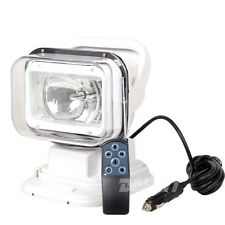55W 24v HID XENON ROTATING REMOTE CONTROL SEARCH WORK LIGHT SPOT BEAM For TRUCK
