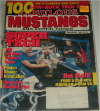 December 1992 Fabulous Mustangs & Exotic Fords magazine