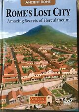 Ancient Rome Rome's Lost City Secret Herculaneum Discovery History Channel DVD