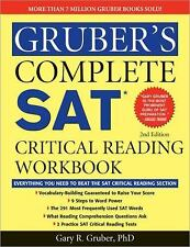 Gruber's Complete SAT Critical Reading Workbook-ExLibrary