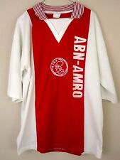 AJAX Amsterdam ABN AMRO Football Shirt Adult Size XL Eurosport Red White Italy