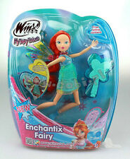 doll  Winx Club Enchantix Fairy -  Doll  Winx WT-15812 Bloom  TOY 28 CM