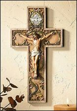 Holy Spirit Crucifix 10 inches NEW SKU NS804