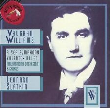 Vaughan Williams: A Sea Symphony 1993 by Ralph Vaughan Willi - Disc Only No Case