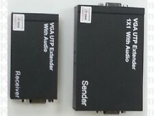 VGA Extender über UTP im SET 300m Signalverlängerung für Video und Audio