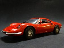 Anson Ferrari Dino 246 GT 1:18 Scale Die Cast Metal Model Enzo Red 246GT Car