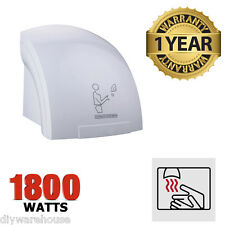 AUTOMATIC ELECTRIC HAND DRYER 1800W WASHROOM TOILET WARM AIR DRIER RESTAURANT