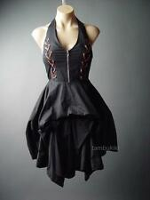 Victorian Elegant Gothic Lolita Aristocrat Steampunk Corset Bustle 88 ac Dress M