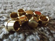 RCA Plug Caps 8 Pack EMI RFI Noise Stoppers Gold Plated Maze Audio