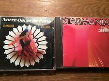 FRANCE MUSICAL FRankreich [2 CD Alben]  Starmania + Notre Dame de Paris