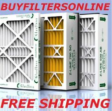 5 pack FITS HONEYWELL AIR FILTER HOUSINGS GF MERV 13 AIR FILTERS 20X25X5 20x25x4