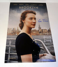 COLM TOIBIN SIGNED AUTOGRAPH BROOKLYN MOVIE POSTER COA