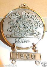 SUPERBE MEDAILLE LES ENFOIRES MOTO CLUB 39 MCP 1990 ETAT PROCHE DU NEUF