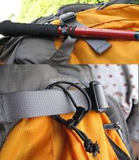 Pack 5 Black Elastic Bungee Cord Luggage Tie Down Straps Rope Camping Hiking