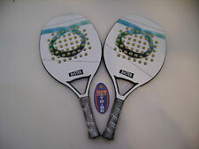 LOTTO COPPIA RACCHETTE BEACH TENNIS RACKET TOM CARUSO ROSTER IDEA REGALO