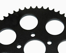 NEW BLACK REAR SPROCKET 51 TOOTH  FLAT ZERO-OFFSET FOR HARLEY 2000 & UP WHEELS