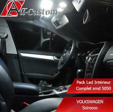 Pack led intérieur Volkswagen Scirocco  11 ampoules
