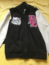 DROP DEAD CLOTHING TOO COOL FOR SCHOOL JACKET COAT UNISEX MENS SMALL S