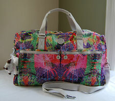 Kipling Travel  Island Hop Tropical Palm  SL4789 Itska Duffel Weekender Bag